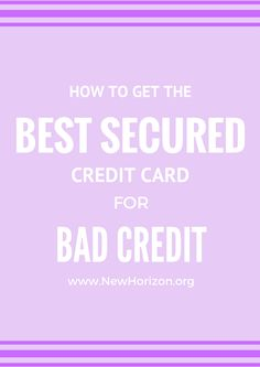 getting a credit card to build credit