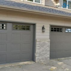 Traditional garage doors are a great choice for an overwhelming number of homeowners. And here's why... | Why Homeowners Choose Traditional Garage Doors by ProLift Garage Doors of St. Louis | Blog | Garage Door Styles, Garage Door Design, Garage Doors, Old Garage, Decorative Panels, Curb Appeal, Mid-century Modern, This Is Us, Farmhouse