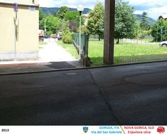 Gorizia & Nova Gorica (2013) Siena, Slovenia, Nova, Sidewalk, Italia, Side Walkway, Walkway, Walkways, Pavement