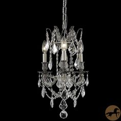 Create a brilliant focal point for any room with this gorgeous crystal chandelier. Your room will sparkle and shine through the showmanship of these amazing Royal Cut lead-free and full-lead crystals.