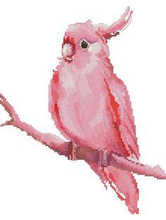 Gallery.ru / Фото #50 - Paid - Asmadeus Cross Stitch Needles, Cute Cross Stitch, Cross Stitch Bird, Beaded Cross Stitch, Crochet Cross, Cross Stitch Animals, Cross Stitch Charts, Cross Stitching, Cross Stitch Patterns