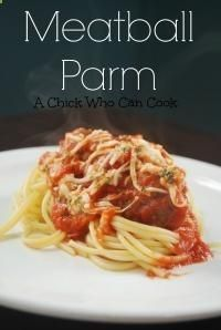Meatball Parm is a family dinner that will make everyone happy!