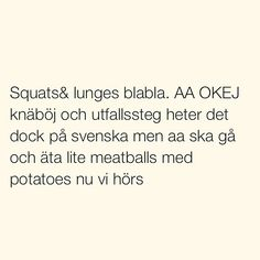 Se foton och videoklipp från SITUATIONER (@situationer) på Instagram fun funny fav Fact Quotes, Me Quotes, Funny Quotes, R Words, Cool Words, Swedish Quotes, Ig Captions, Different Quotes, Can't Stop Laughing