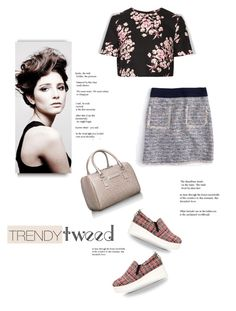 """""""Trendy Tweed...."""" by angiesprad ❤ liked on Polyvore featuring KG Kurt Geiger, J.Crew, Angelo, Jonathan Saunders, Calvin Klein, women's clothing, women, female, woman and misses"""
