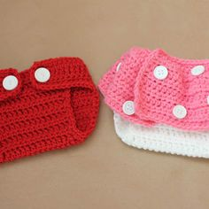 Mickey & Minnie Diaper Covers - Repeat Crafter Me: Crocheting
