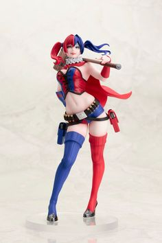 Kotobukiya is back with another breathtaking figure of Harley Quinn in her…