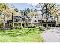 40 French Rd , Sudbury, MA 01776 - DOUG'S COMMENTS:  Great setting and front yard.  Wow Master suite and guest suite with sitting area.  Even the upstairs hall bath wows and is spa worthy.  Overall, large, but comfy a cozy.
