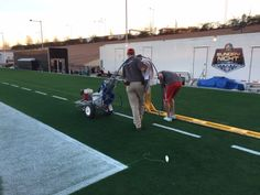 Toro's Super Bowl Sports Turf Training Program winner helping to prep the field