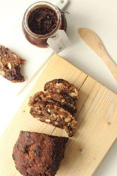 glutenfree and sugarfree fruitcake - www.healthyhappysteffi.com