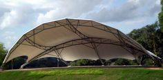 Theme park and entertainment venues using tensile fabric architecture and shade sails @TensileSystems.com