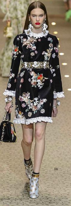 Dolce and Gabbana Fall Winter 2018-19