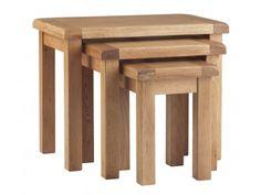 Corndell Lovell Nest of Table Manufactured in European oak £212.80