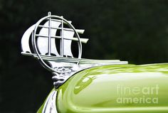1934 Plymouth - Hood Ornament Photograph by Kaye Menner
