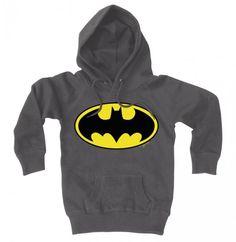 Kinder Sweaters: Batman logo (dark gray)  Logoshirt  Batman, Merch, Kinder Sweaters www.detoyboys.nl