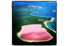 Katie Hillier Blog - Pink Lake Hillier in Western Australia (Vogue.com UK)