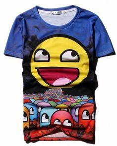 Laughing emoji tshirt for men short sleeve xxxl tee Large Emoji, Emoji Patterns, Laughing Emoji, Teenage Guys, Shirts For Teens, Tee Shirts, Tees, Hip Hop, Cosplay