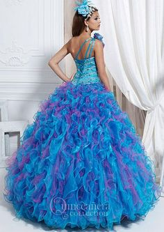 Another image of Quincinera Collection Dress 26701 by House of Wu