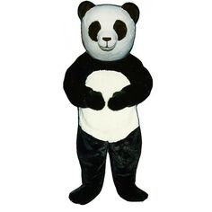 222-Z Pandora Panda - Team-Mascots.  See more panda bear mascot costumes at:  http://www.team-mascots.com/bear-mascot-costumes/panda-222