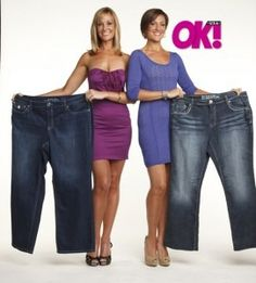 Hannah and Olivia. I knew these girls would dominate the latest season of The Biggest Loser.