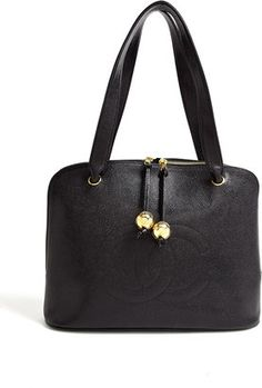 Vintage Heirloom Caviar Gold Toggle Chanel Hand Bag 272f0195b4a53