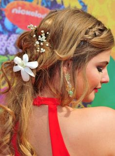 Hairstyles For Girls With Long Hair - Tousled Half up Half Down