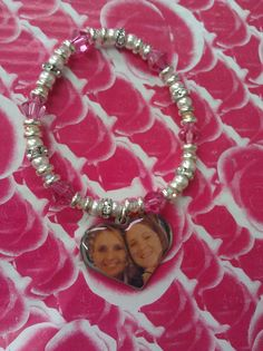 Special Sisters!! Custom made bracelet with photo for a great relationship builder!