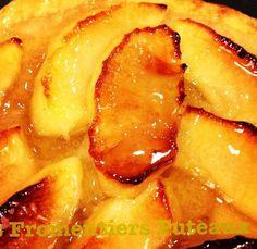 Tartelette fine aux pommes  des Fromentiers Puteaux, comment y résister ? Apple puff pastry tartlet  Les Fromentiers Puteaux, yummy !