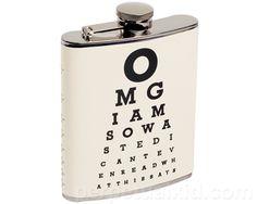 Eye Chart Flask.
