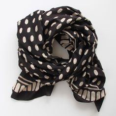 A scarf from Block Shop, the Los Angeles-based online shop started by two sisters.