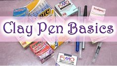 Clayin' with Raven: Clay Pen Basics