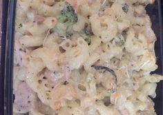 Tepsis tejszínes brokkolis csirkés tészta Penne, Pasta Salad, Potato Salad, Food And Drink, Potatoes, Ethnic Recipes, Crab Pasta Salad, Potato, Noodle Salads