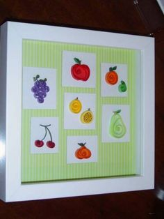 quilled fruit   fruits - Quilled Creations Quilling Gallery