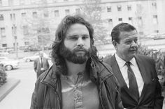 March 5,   1969: JIM MORRISON IS CHARGED WITH LEWD BEHAVIOR AT A MIAMI CONCERT  -    The Dade County Sheriff's Office issues an arrest warrant for Doors' lead singer Jim Morrison. He is charged with a single felony count and three misdemeanors for his stage antics at a Miami concert a few days earlier.