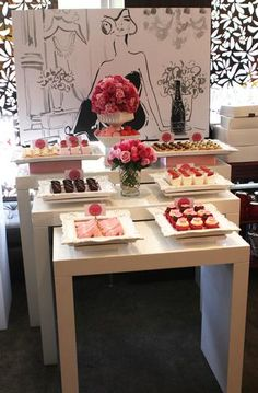Hostess with the Mostess® - Glam 40th dessert table