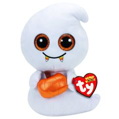 TY Beanie Boos Scream the Ghost Medium Plush Toy
