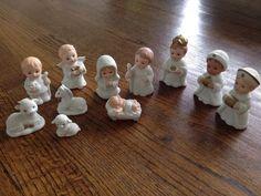 Homco Home Interiors Nativity Set