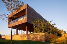 Residência CT – Bernardes + Jacobsen Arquitetura (Sao Paulo, Brasil) #architecture
