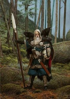 Follower of Odin, Freya and the Morrigan — rpgrules: The Raven Clan. By Adrian Smith .