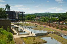 Wassergärten Reden direkt bei der  Erbe Ausstellung und Gondwana. Hier war auch…