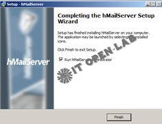 3.9. Setup Hmailserver