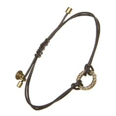 £19.50 Gold Crystal Hoop Friendship Bracelet