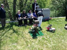 George H. Gossom, Jr.  Funeral in Annisquam, May 2013