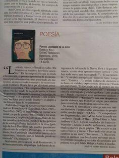 #Felizmiércoles #recomiendo #poesia #KennethKoch @kriller71 #RomeroBarea #reseña @MondeDiploEs @IRamonet @masleer