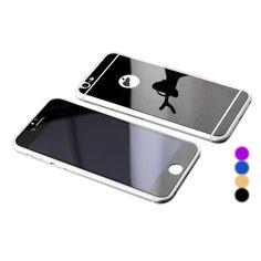 Amazon | iphone7 強化ガラスフィルム 衝撃保護フィルム 鏡面ミラーキラキラ光るバックプレート前後鏡面ガラスフィルム 前後セット アイフォン7 フィルム 耐衝撃 iPhone7対応 (iphone7, ブラック) | 液晶保護フィルム 通販