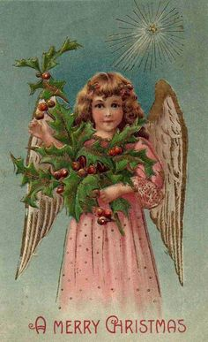 Old Christmas Post Cards — (649x1065)