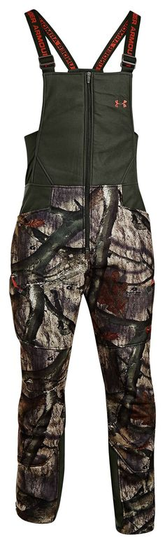 Under Armour® ColdGear® Ayton Camo Bibs for Men | Bass Pro Shops. Size Large: