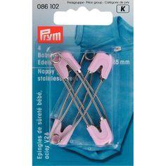 Prym marka bebek çengelli iğnesi paslanmaz çelikten olup bebek kıyafetlerinde kullanılır. http://bit.ly/1MWOzUl #goblen #bursaipek #prymbebekiğnesi #bebekiğneleri #paslanmazçelikiğneler #başlıklıiğneler #çengelliiğneler
