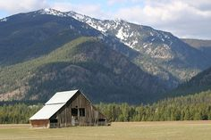 barn with a view, Montana