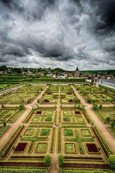 Villandry Gardens, France