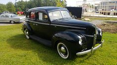 Ford Black Running Boards 1940 Standerd Barn Find With Running